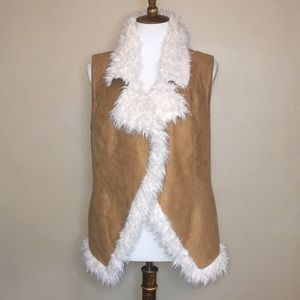 Vince Camuto faux Shearling lined Vest